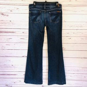 7 For All Mankind Dojo Dark Wash Jeans - Size 30